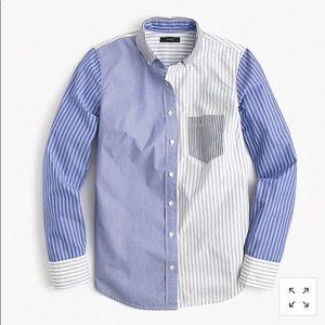 J. Crew cocktail shirt EUC